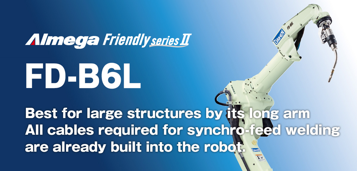 AImega Frendly series FD-B6L Compact, high performance design, with application for large workpieces.