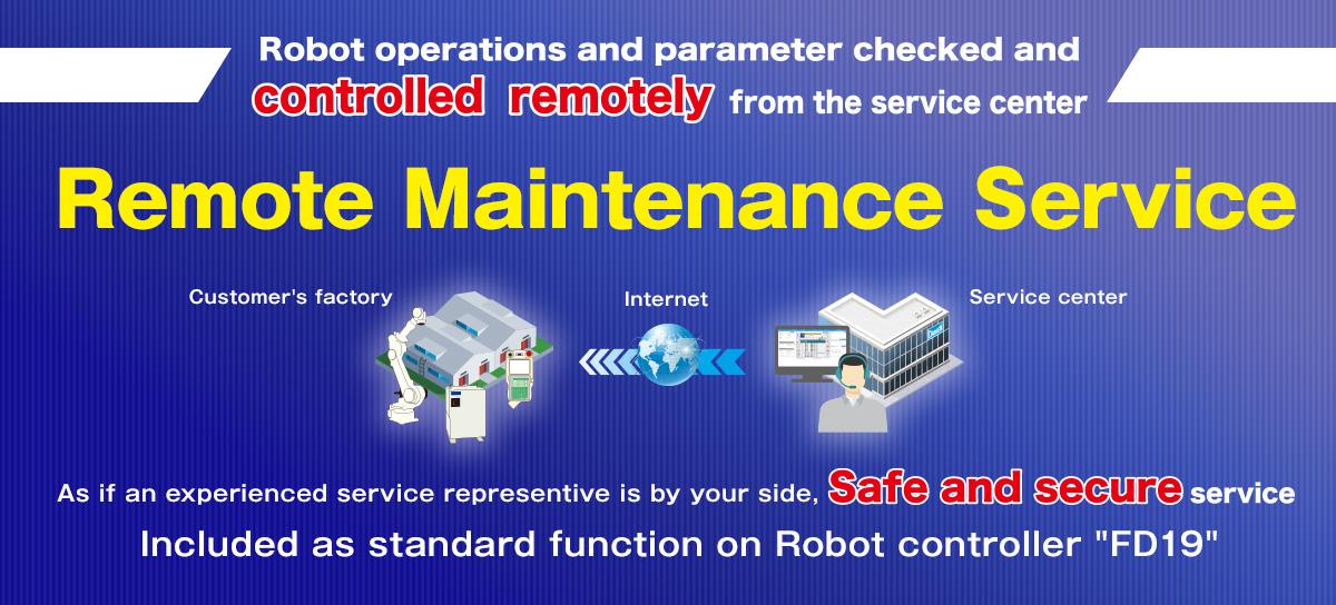 Remote Maintenance Service